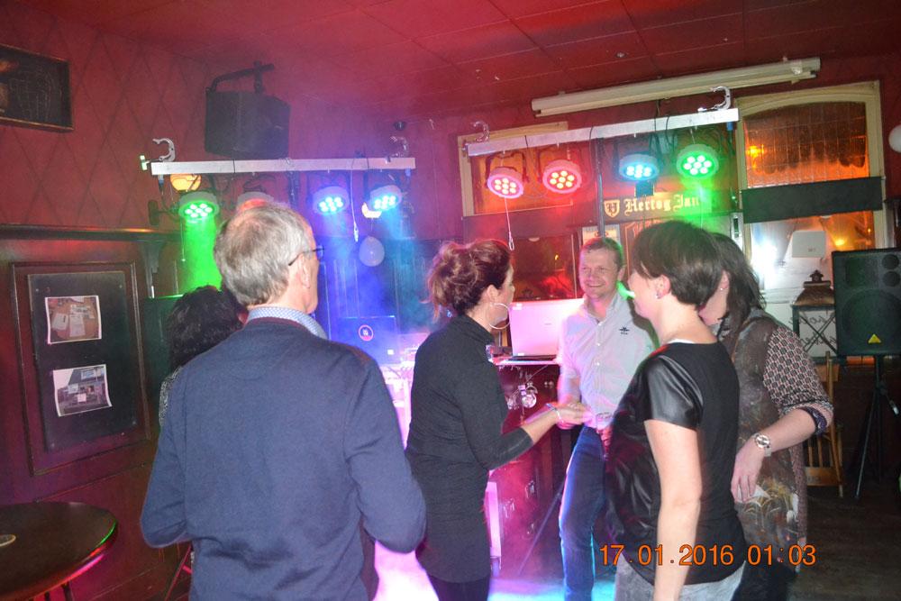 Verjaardagsfeest Oale Bakkerij Dalen DJ Gerrit