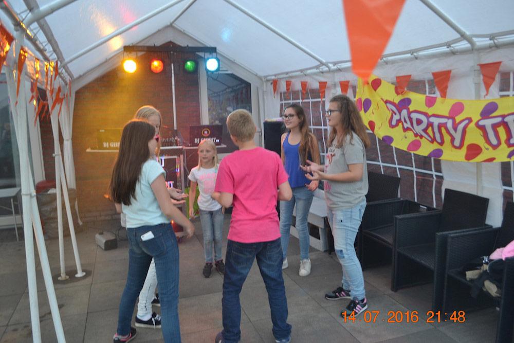 Afscheidsfeestje Groep 8 Valkenhorst Assen
